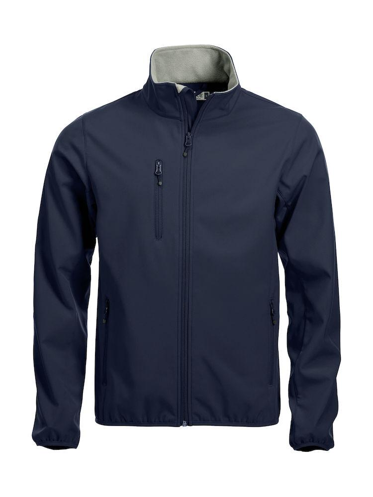 Image of   Clique basic softshell jakke til mænd - fås i mange farver