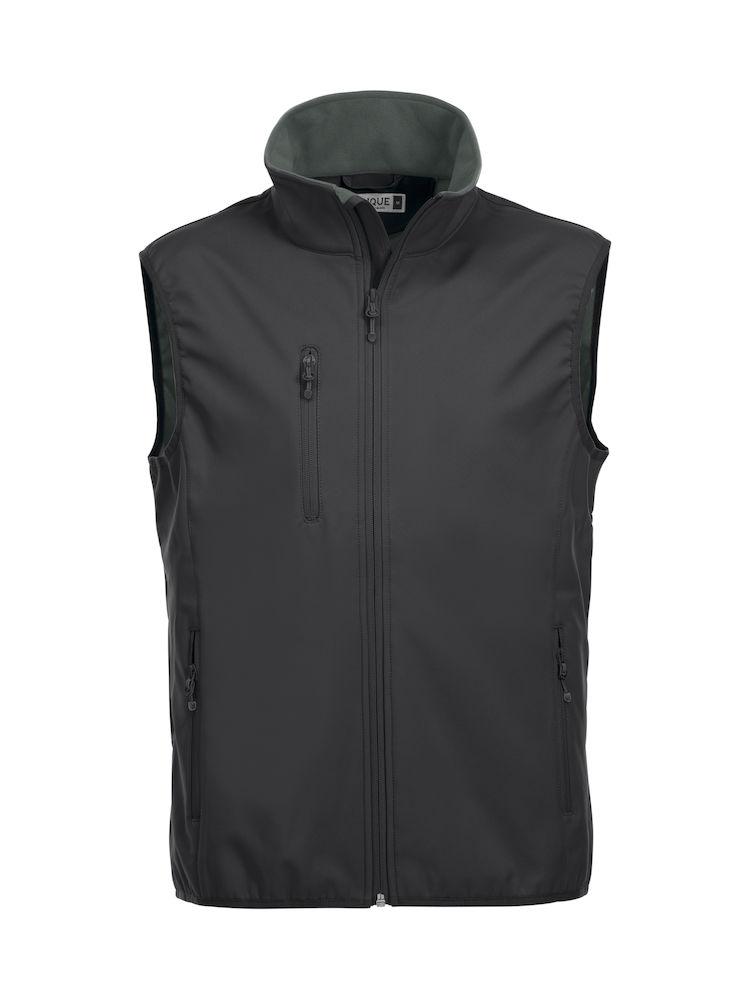 Image of   Clique Basic Softshell vest til mænd - fås i mange farver