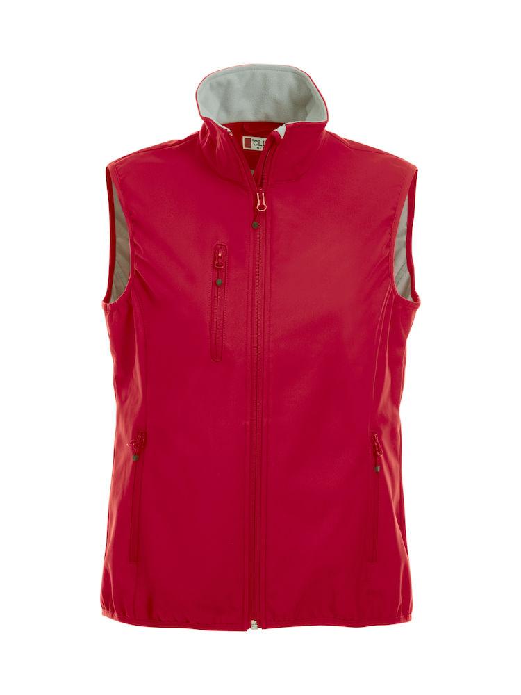 Image of   Clique Basic Softshell vest til kvinder - fås i mange farver