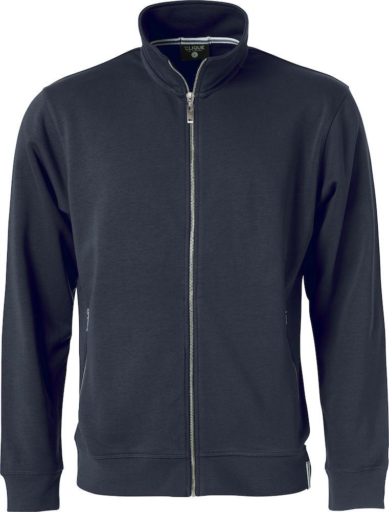 Image of   Clique Classic FT sweartshirt cardigan til mænd