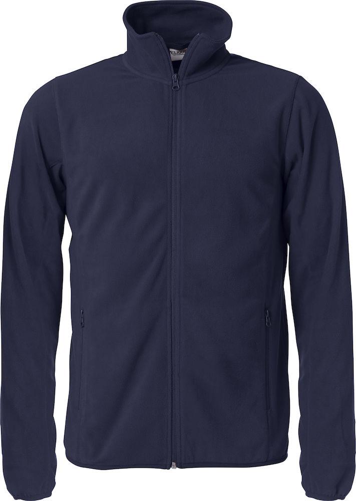 Image of   Clique Basic Micro Fleece jakke til mænd - fås i flere farver
