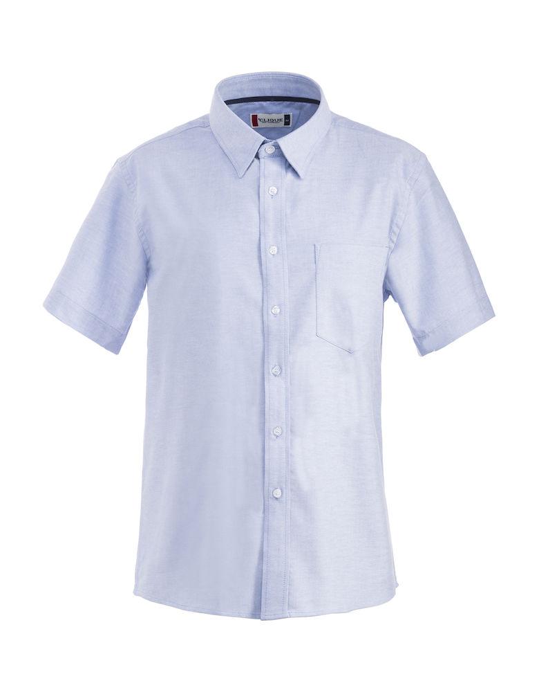 Image of   Clique Cambridge kortærmet skjorte til mænd