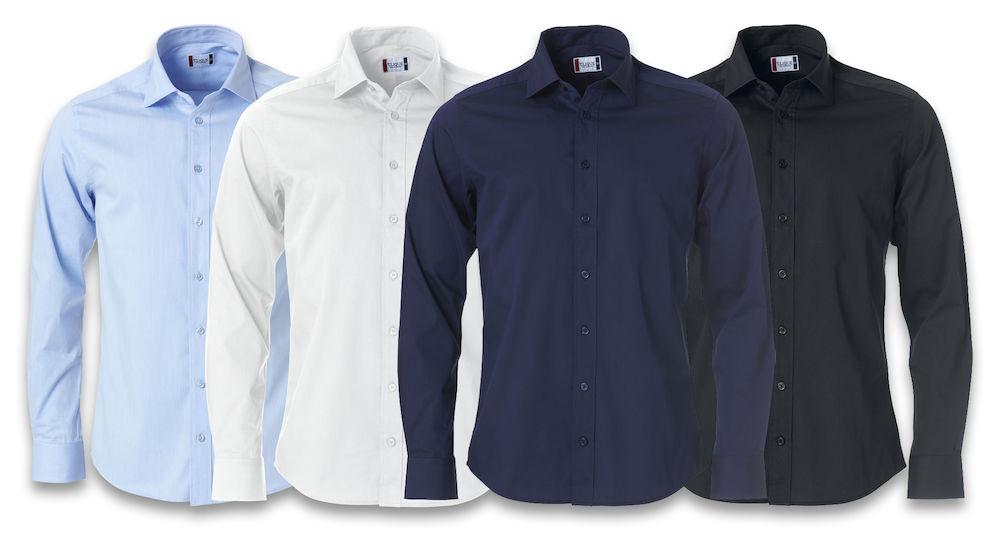 Image of   Clique Clark skjorte til mænd