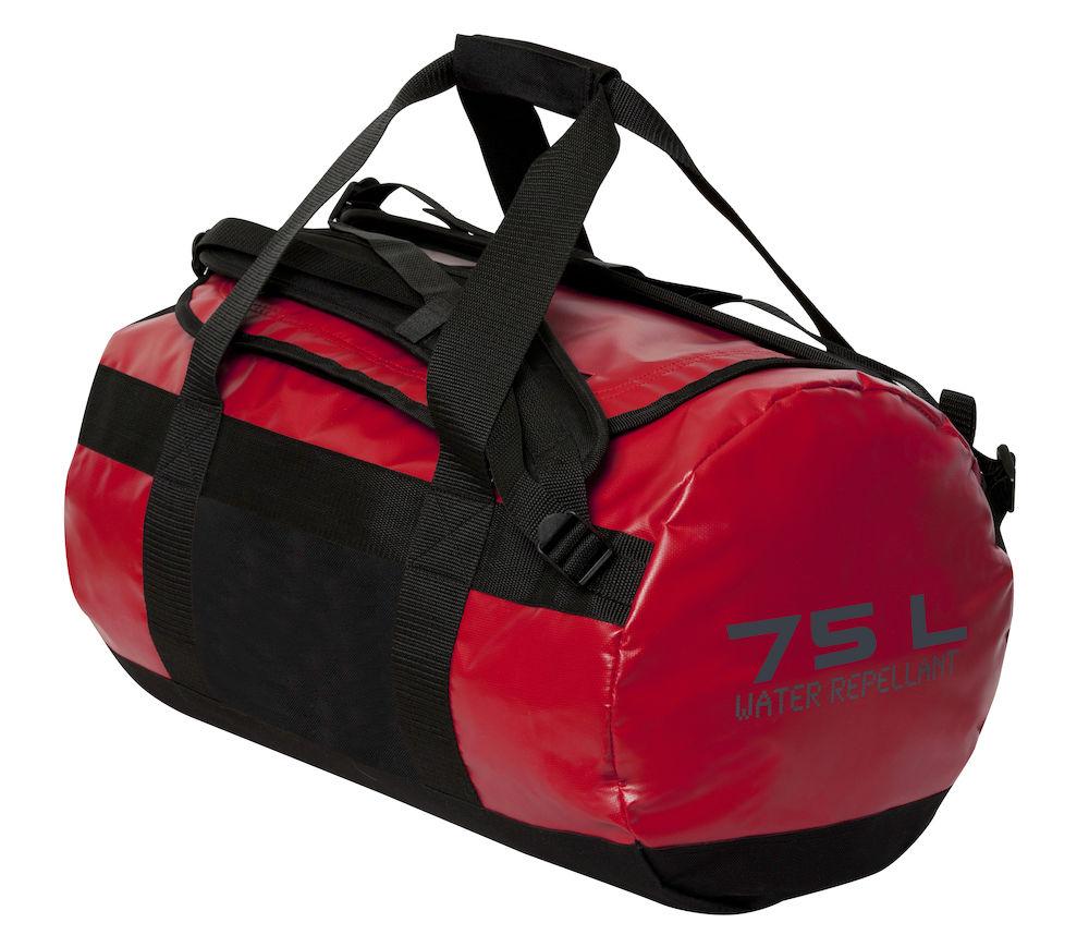 Image of   Clique 2 In 1 Taske - 75 Liter - Rød