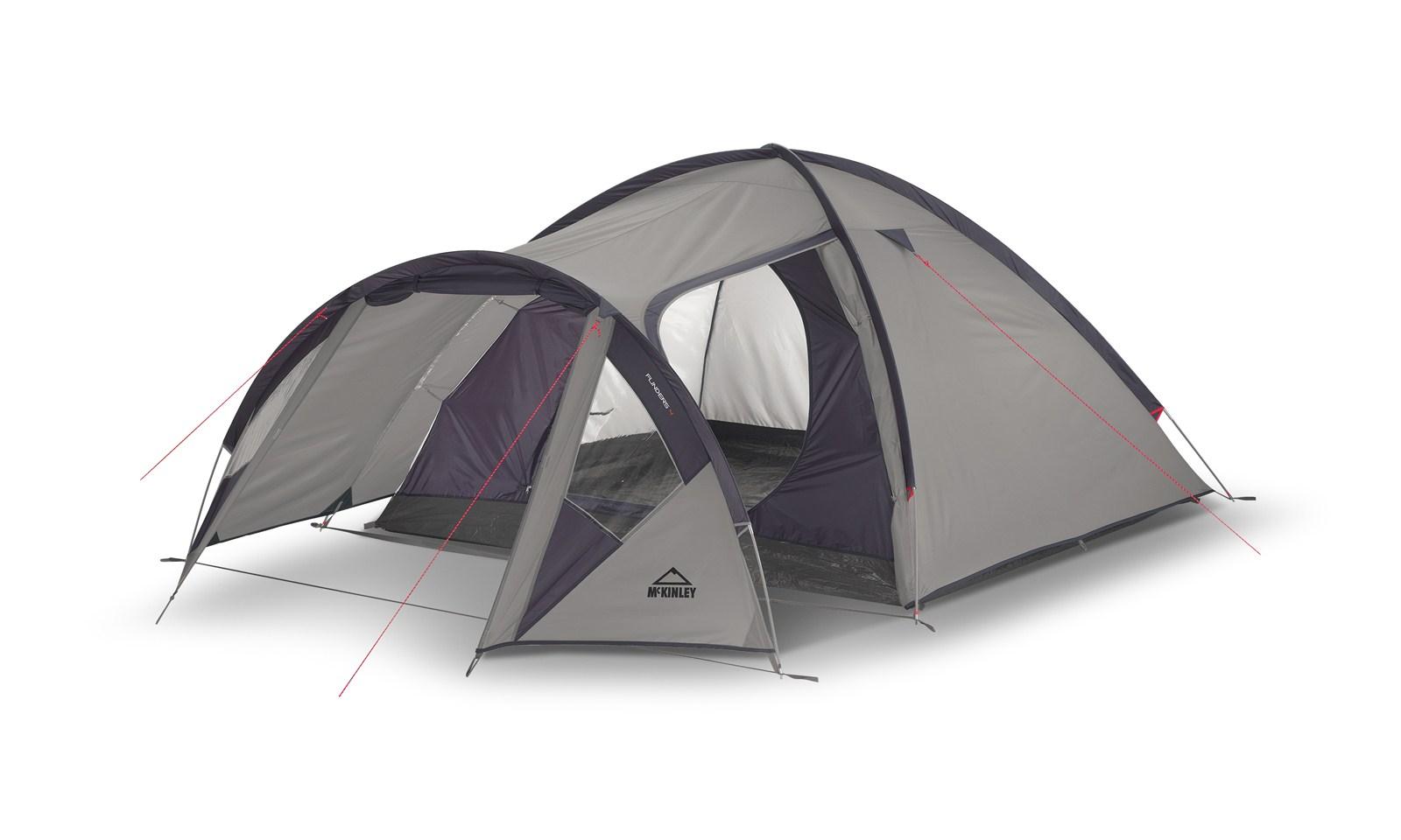 Image of   McKINLEY Flinders 4 Camping telt