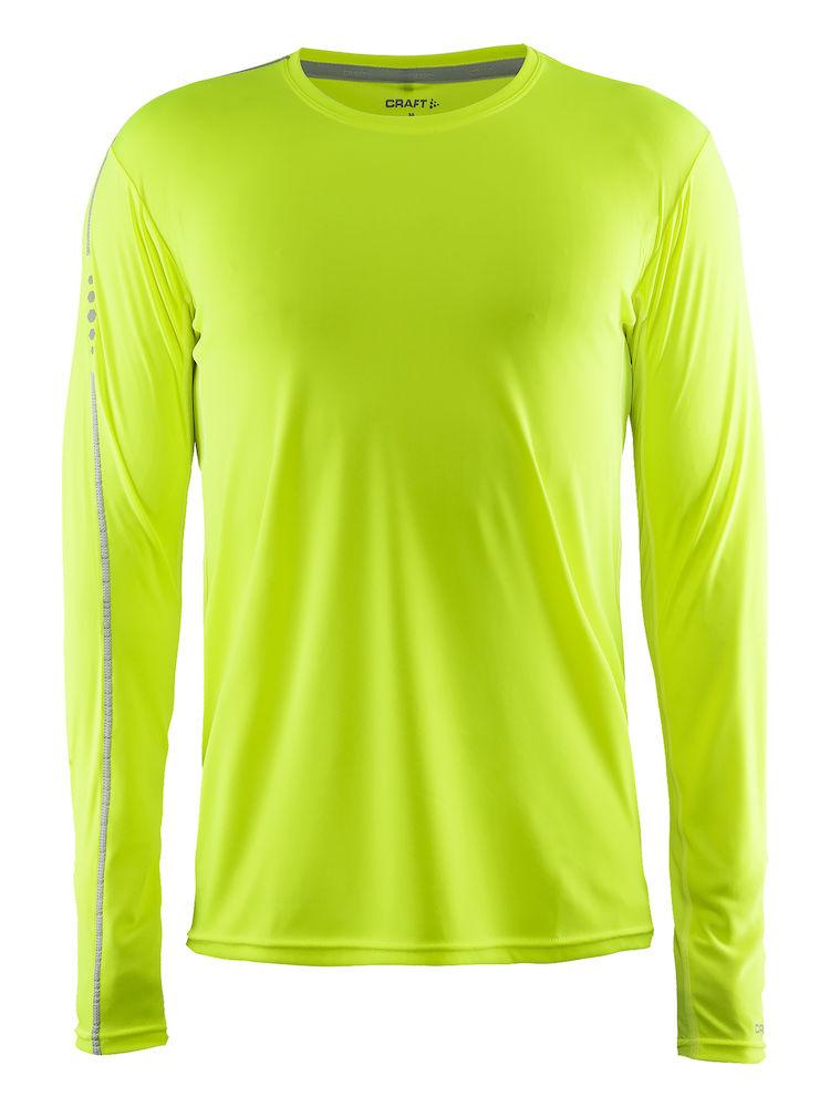 Image of   Craft Mind Langærmet løbe t-shirt til mænd - Mange farver