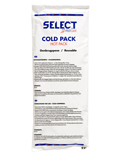 Image of   Select Hot-Cold pack - genbrugspose