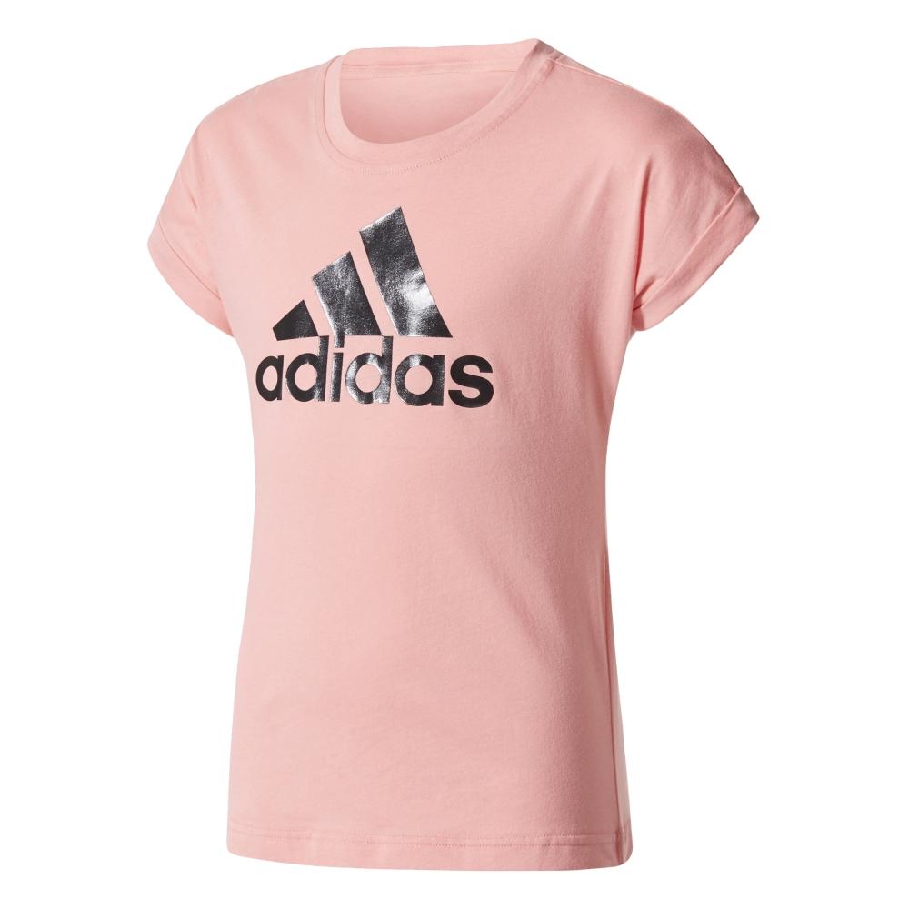 Image of   Adidas Performance logo t-shirt til piger