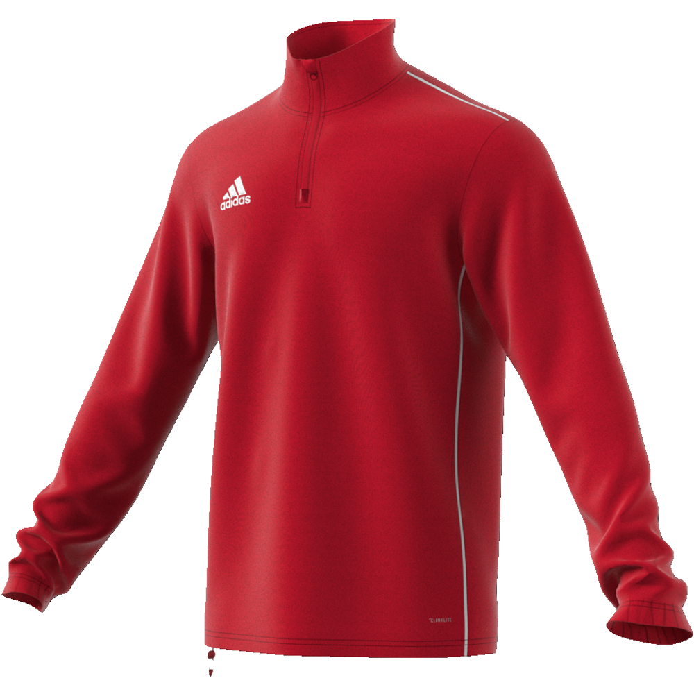 Image of   Adidas Core 18 træningstop til voksne i Rød