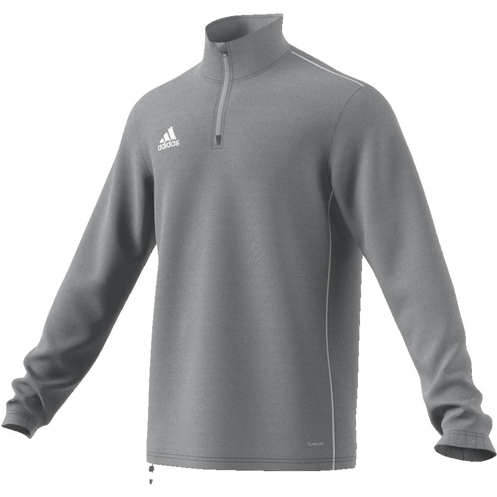 Image of   Adidas Core 18 træningstop til voksne i Grå