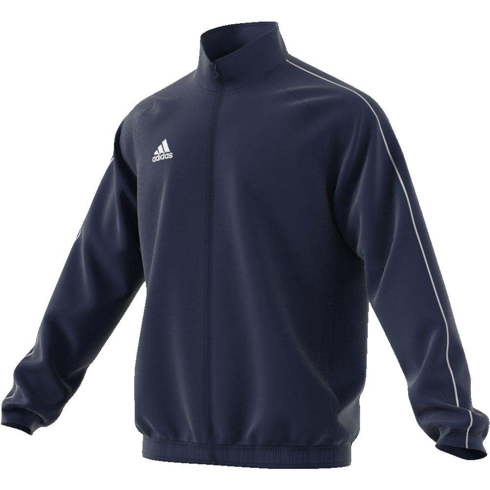 Image of   Adidas Core 18 Presentation træningsjakke til voksne i Marine