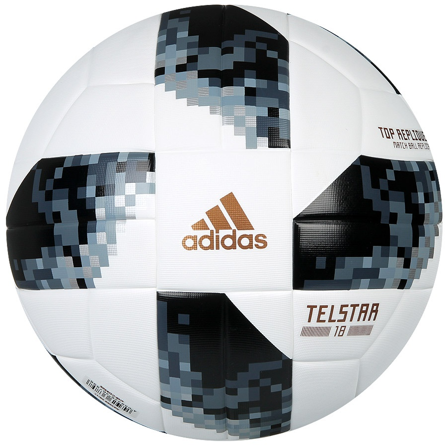 Image of   Adidas Telstar World Cup 2018 top replica fodbold - Rusland 2018