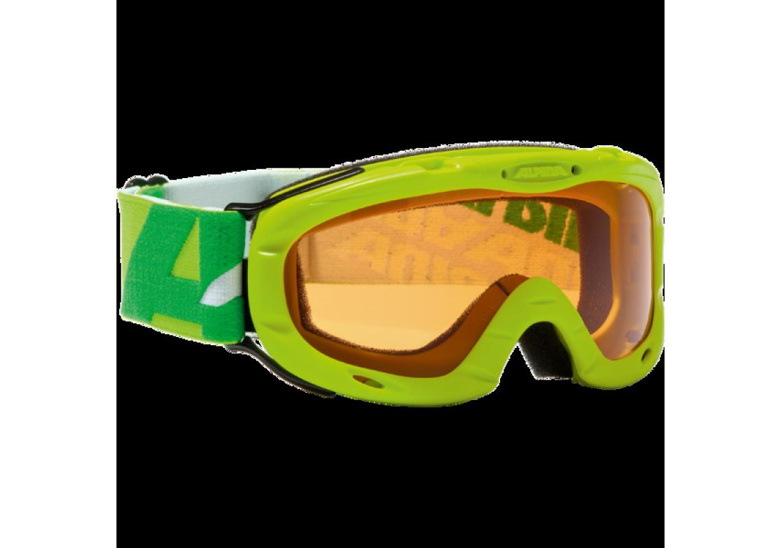 Image of   Alpina Ruby Skibriller til Jr. i neon grøn