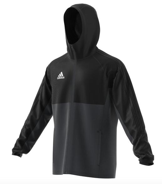 Image of   Adidas TIRO 17 Regnjakke til voksne