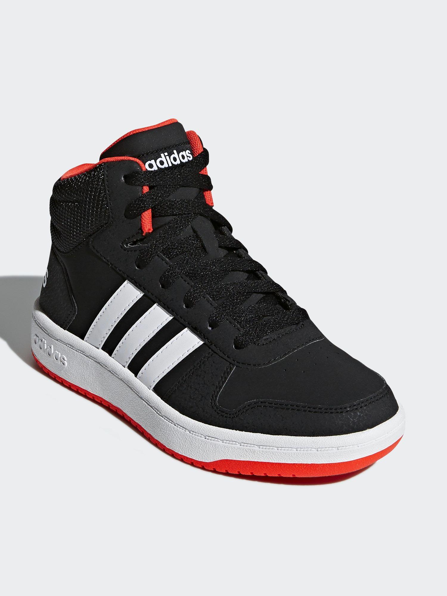 Image of   Adidas Hoops Mid 2.0 K basketinspireret fritidssko til børn