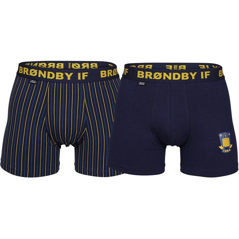 Image of   Brøndby IF 2 pack underbukser fra JBS til voksne