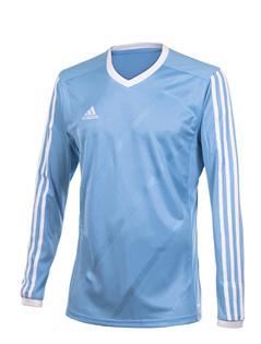 Image of   Adidas TABE langærmet trøje til mænd i lyseblå og hvid