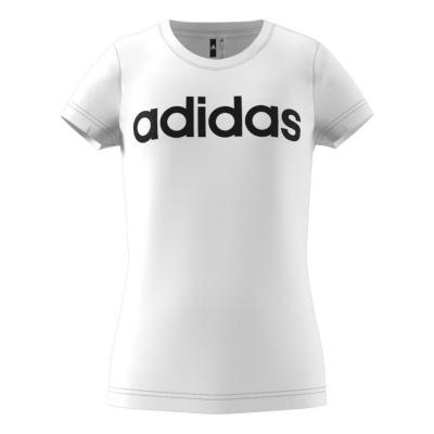 Image of   Adidas Bomulds t-shirt i hvid - Børn