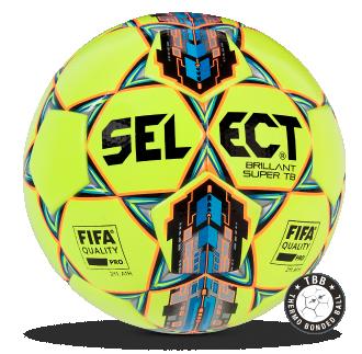 Image of   Select Brillant Super TB fodbold - Gul