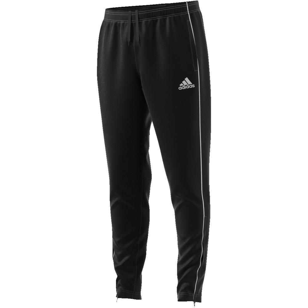 Image of   Adidas Core 18 træningsbukser til voksne i Sort