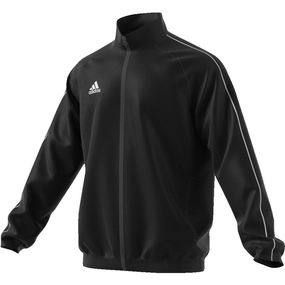 Image of   Adidas Core 18 Presentation træningsjakke til voksne i Sort