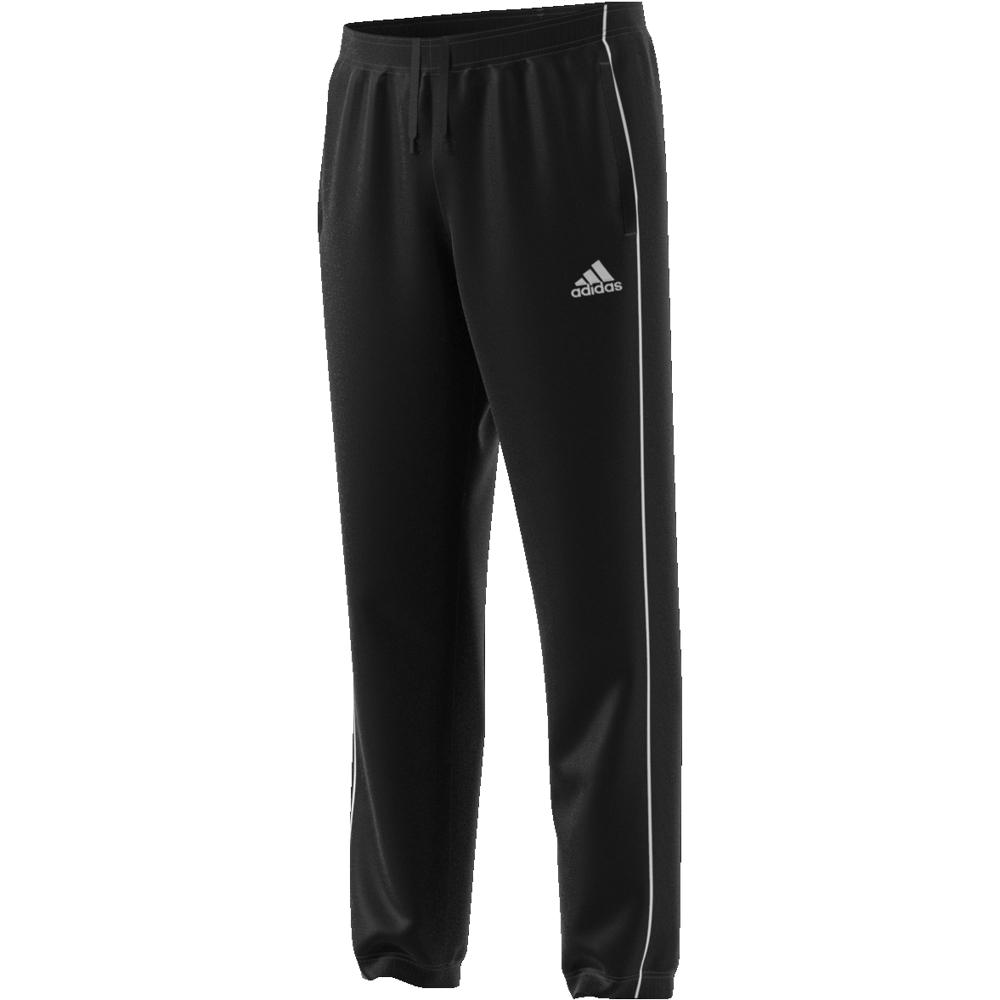 Image of   Adidas Core 18 PES Polyester træningsbukser til voksne i Sort