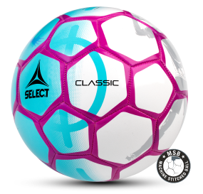 Image of   Select Classic fodbold i Turkis/Pink