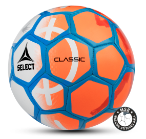 Image of   Select Classic fodbold i Orange/Blå