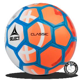 Image of   Select Classic 47 mini fodbold til børn i Orange/Hvid