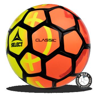 Image of   Select Classic fodbold i Gul/Orange