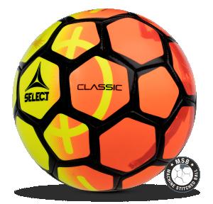 Image of   Select Classic 47 mini fodbold til børn i Gul/Orange