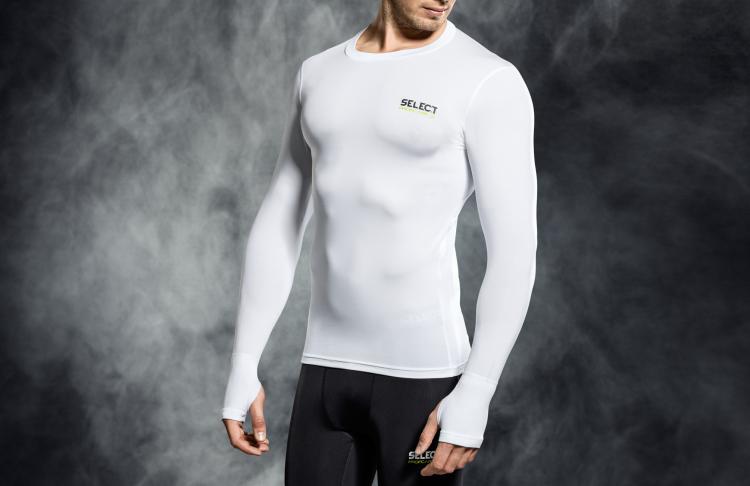 Image of   Select kompressions T-shirt med lange ærmer (L/S)