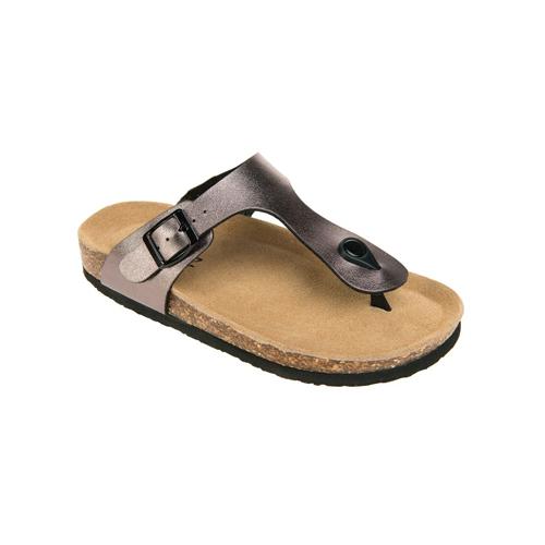 Image of   Cruz Cork Sandal i Metallic Grey
