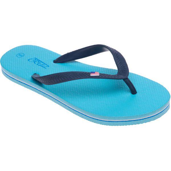 Image of   Cruz Flip Flop sandal - Blue Fish