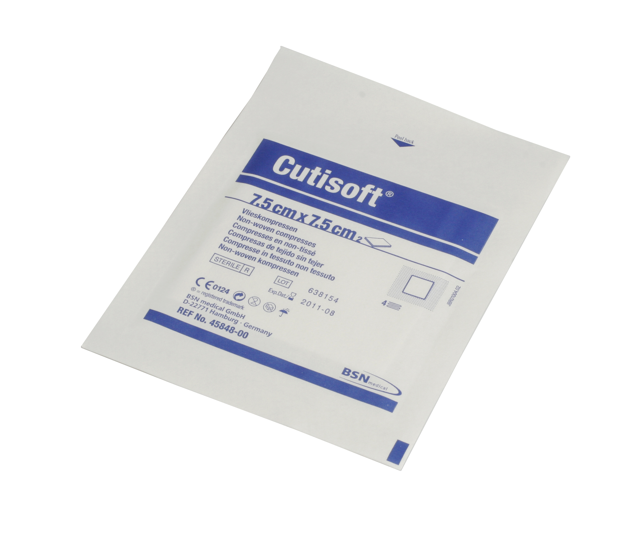 Image of   Select Cutisoft Steril Kompres 7,5 cm