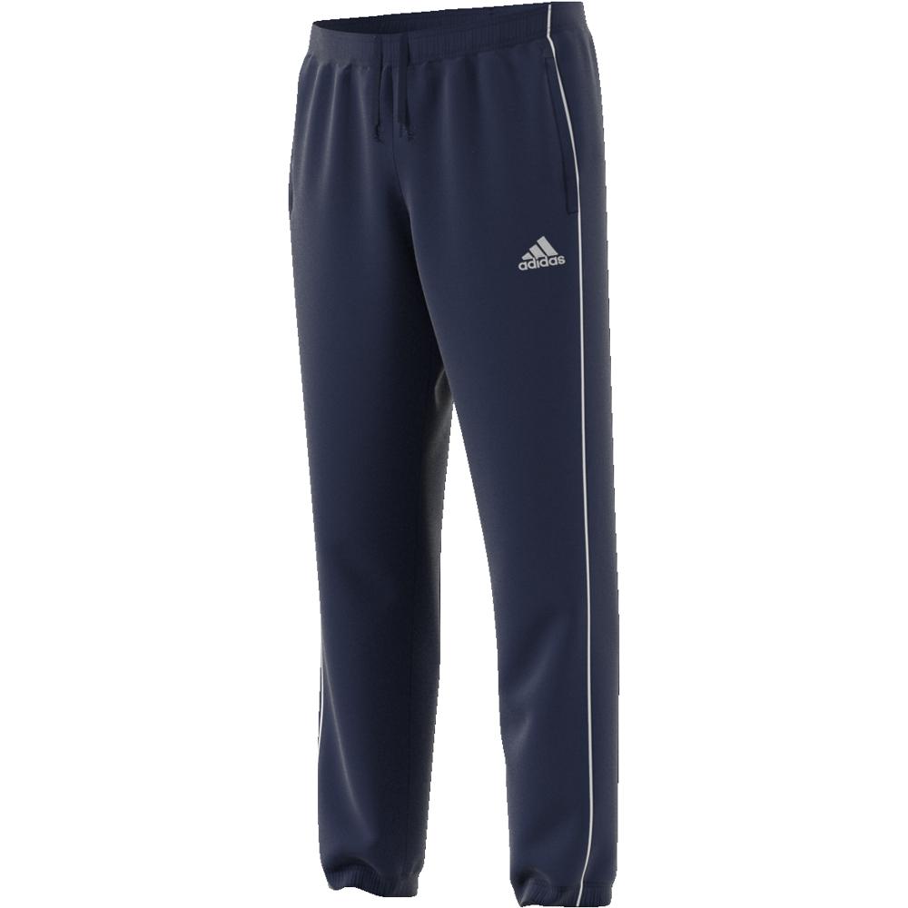 Image of   Adidas Core 18 PES Polyester træningsbukser til voksne i Marine