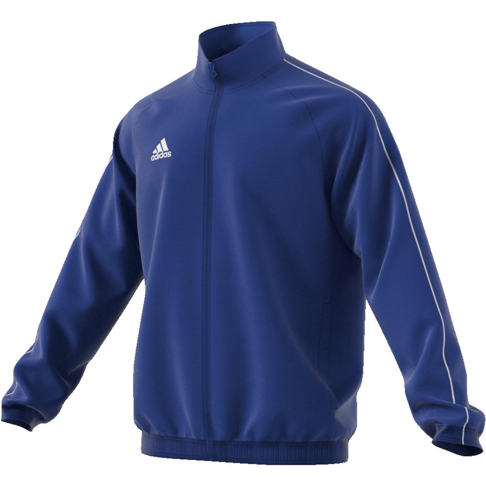 Image of   Adidas Core 18 Presentation træningsjakke til voksne i Blå