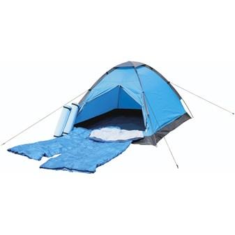Image of   Festivalpakke - Telt, liggeunderlag + sovepose til 2 personer