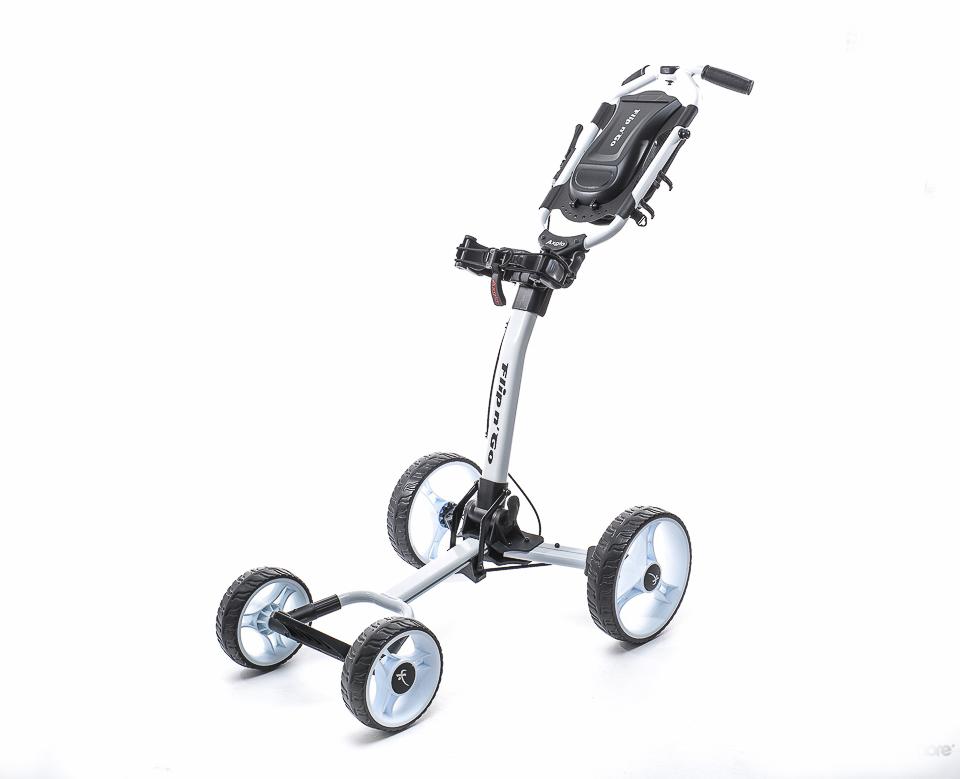 Image of   Flip n Go 4-hjul golfvogn på tilbud - Fri fragt på dette produkt