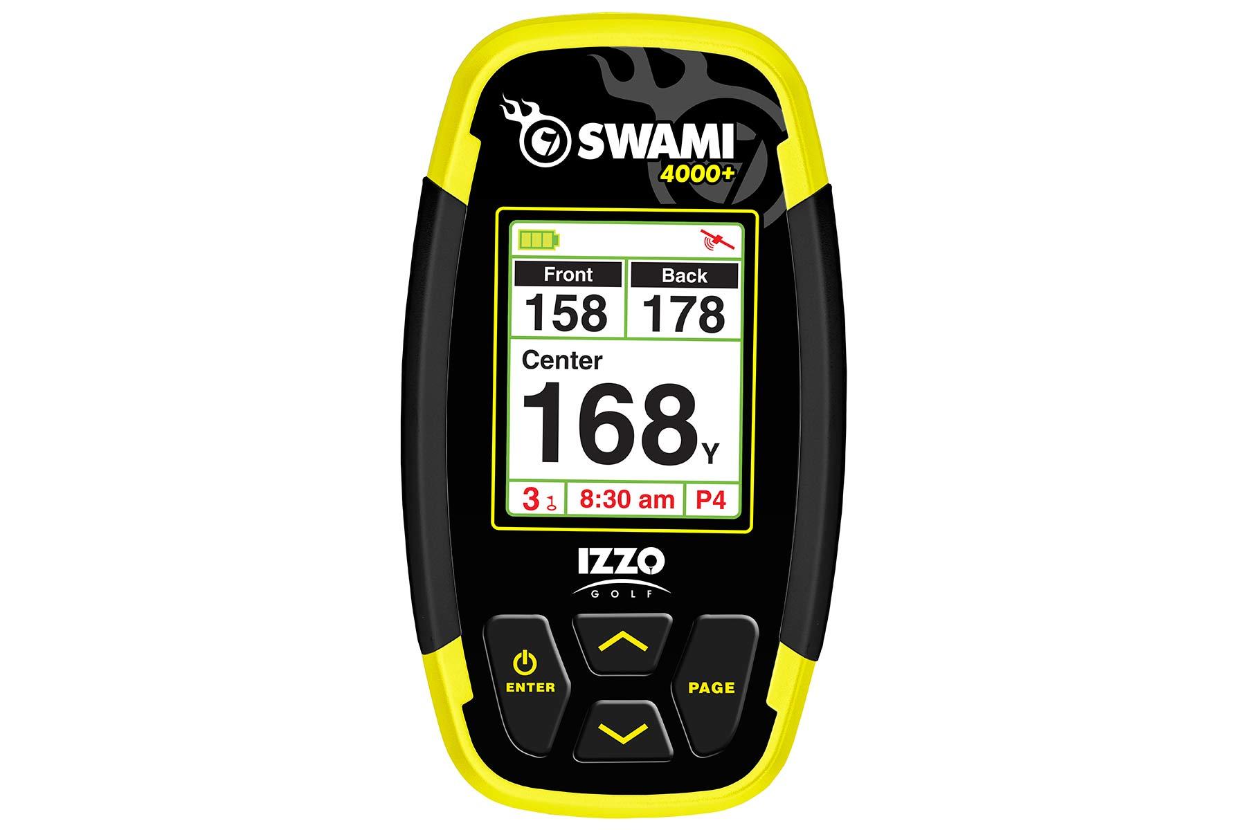 Image of   Izzo Swami 4000 Plus med PGS - afstandsmåler til + 30.000 golfbaner
