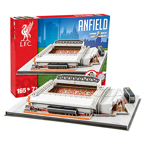 Image of   Liverpool Anfield Stadion - som 3D Puslespil - Nyhed i Danmark