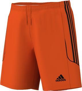 Image of   Adidas SQUAD 13 shorts til mænd i orange og sort