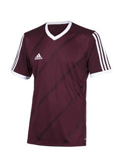 Image of   Adidas TABE 14 Trøje til mænd i mørkerød og hvid