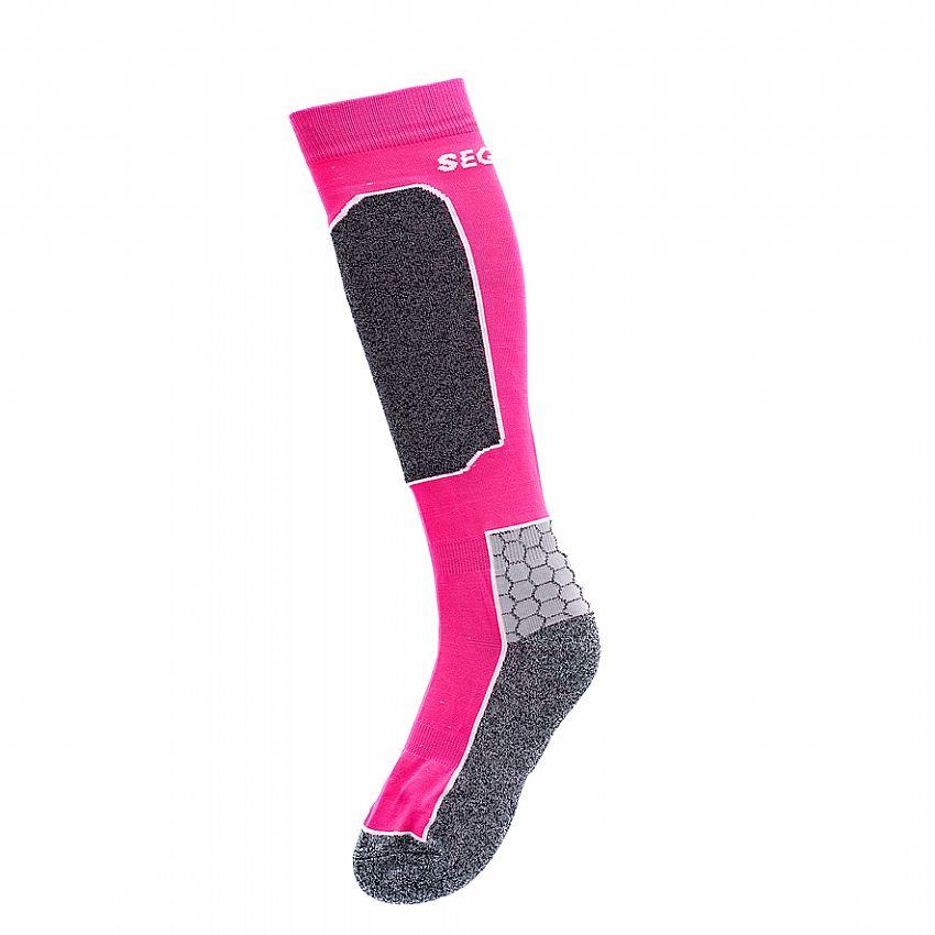 Image of   Seger Alpine Racer skisokker i pink på tilbud
