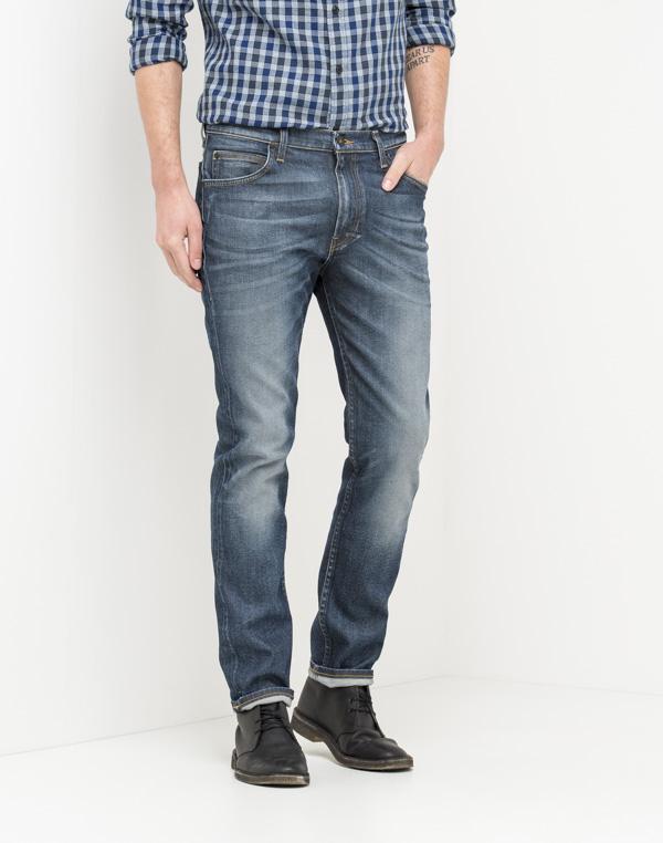 Image of   Lee RIDER Slim Jeans Demin BLUE GLOSS - Fri fragt på dette produkt