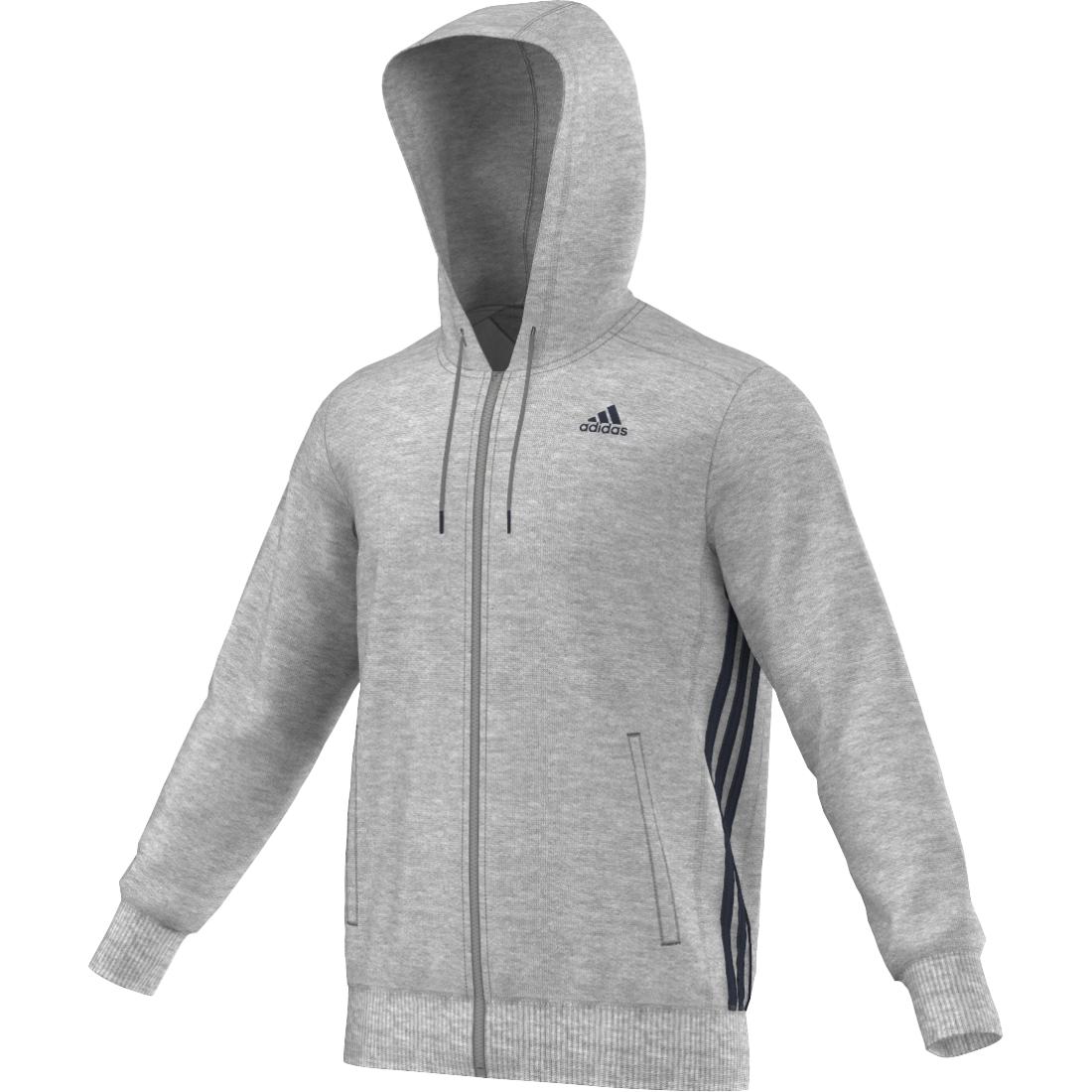 Image of   Adidas Sport Essentials Mid Full Zip Hoodie