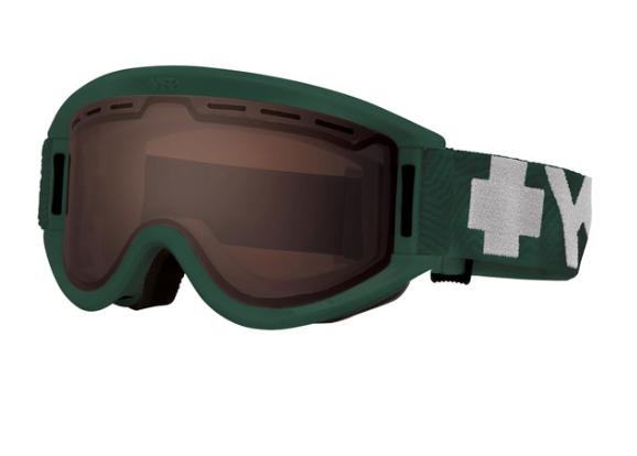 Image of   Spy+ Getaway ski briller til voksne i grøn med orange glas