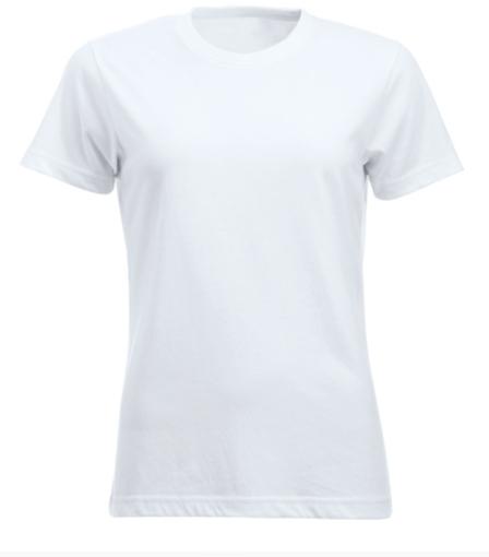 Image of   Clique Classic bomulds T-shirt til kvinder