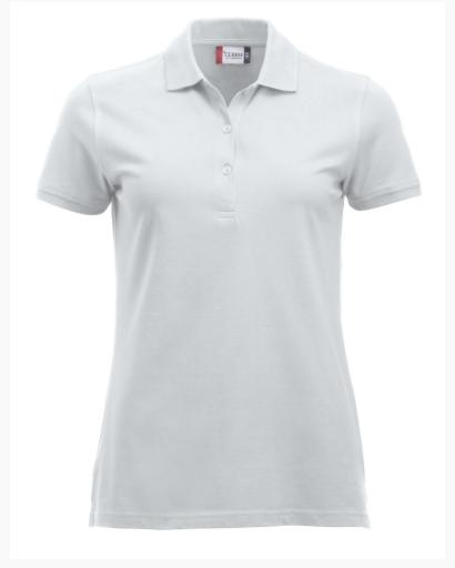 Image of   Clique Classic Marion Bomulds Polo t-shirt til kvinder