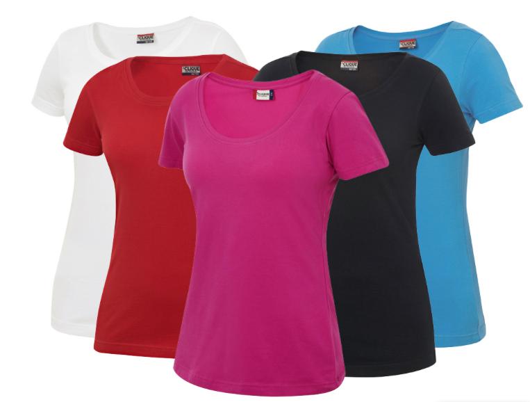 Image of   Clique Carolina t-shirt til kvinder - fås i flere farver